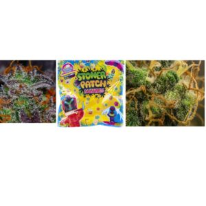 Essential Combo – One Cannabis Edible and Two 1/8 oz Premium Flower