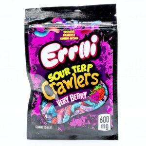 Sour Terp Crawlers Edible Cannabis Gummies